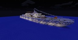 Yacht - Diamond Atlantia - Atlantia Class Minecraft Map & Project
