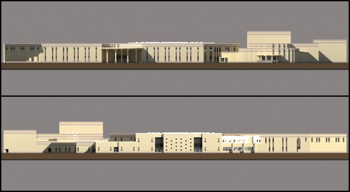 Front and Rear elevations not updated