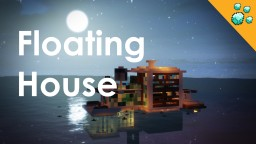 Floating Modern House + Boats Minecraft Project