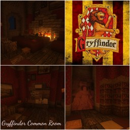 Gryffindor Common Room [Harry Potter] Minecraft Map & Project