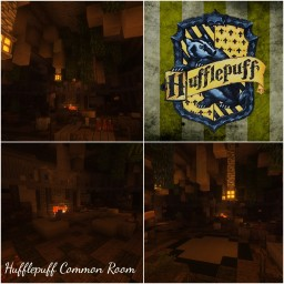 Hufflepuff Common Room [Harry Potter] Minecraft Project