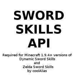 Sword Skills API [1.9.4-1.12.2] Minecraft Mod