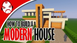 Minecraft: How To Build A Modern House Tutorial Minecraft Map & Project