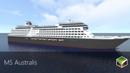 Ms Australis | Luxury Cruise Ship Minecraft Project