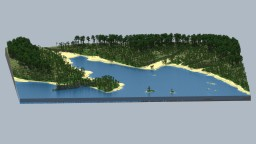 North Queensland, Australia, Beach - Requested Stream Build Minecraft Map & Project