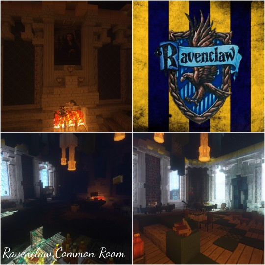 Ravenclaw Common Room [Harry Potter] Minecraft Project