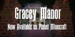 Gracey Manor (Disney's Haunted Mansion) Map Minecraft Project