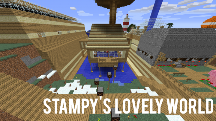 how to look at stampys world on minecraft