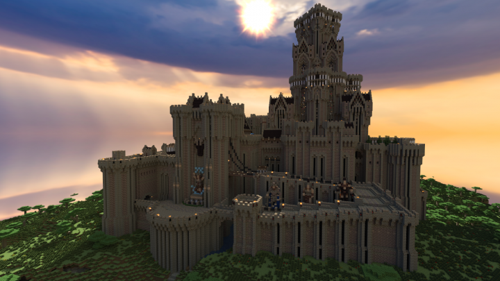 Stonepyre Castle Survival Minecraft Project