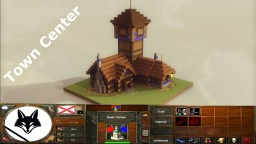 Town Center Age 1 - Age of Empires III Minecraft Map & Project