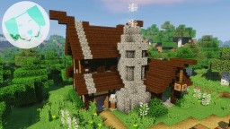 Nordic Blacksmith & town with tutorial! Minecraft Map & Project