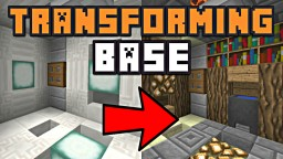 THE TRANSFORMING BASE! Minecraft Blog Post