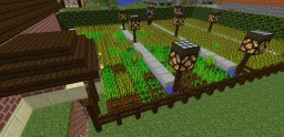 Simple Tutorial Villager Bread Making Farm Minecraft Map & Project