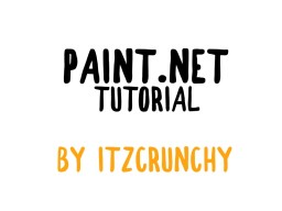 How to get started with drawing art! (A Paint.NET Tutorial) Minecraft Blog Post