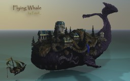 Flying Whale Minecraft Map & Project