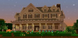 Small White House [ Download ] Minecraft Project