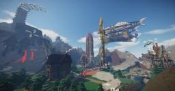 KiqsRocks -- Steampunk Lobby & City Minecraft Project