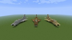 Mikoyan-Gurevich MIG-21 F-13 Minecraft Map & Project