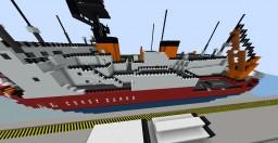 USCGC Polar Star Icebreaker Ship Minecraft Project