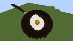 Fried Egg In Pan Minecraft