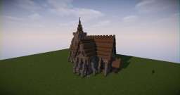 Small Medieval Church Minecraft