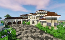 Mediterranean Mansion 2 - Greenfield Minecraft Map & Project
