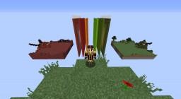 Dragon TNT wars Minecraft Project