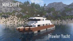 Trawler Yacht (full interior) Minecraft Map & Project