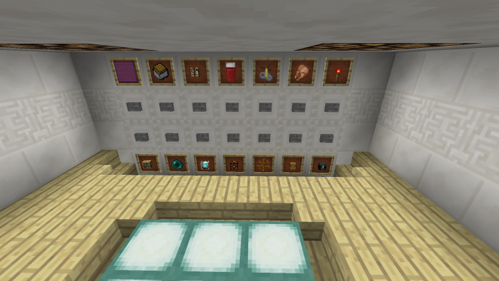 Redstone House 8 All In One Room V2 Minecraft Project