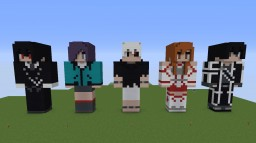Anime Statues Minecraft Project