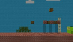 Super Mario craft Bros! Minecraft Map & Project