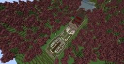 JapaneseTemple map Minecraft Project