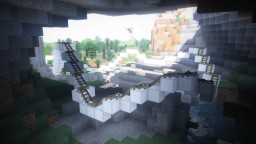 The Dark mine - A Dark Ride and Roller Coaster Minecraft Map & Project