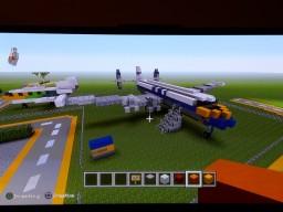 Lockheed Super Constellation Minecraft Project