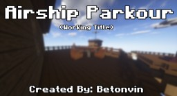 Airship Parkour Adventure Minecraft Map & Project
