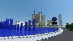 Paris Hotel Las Vegas - Las Vegas Project Minecraft Map & Project
