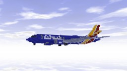 Boeing 737 MAX 8 (Southwest Airlines) Minecraft Project