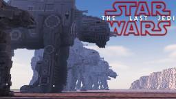 Star Wars - The Last Jedi Minecraft Project