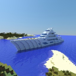 Minecraft Yacht [XE Tropical] Minecraft Project