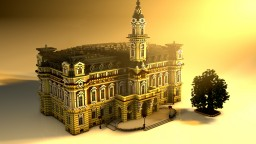 Nowy Sącz Town Hall | Eclecticism Minecraft Map & Project