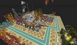 Three old(er) builds: Ocean Plot, Mines - Spleef, Savannah Minecraft Project