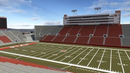 Rice-Eccles Stadium - University of Utah Minecraft Project