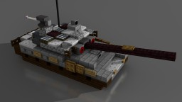 T-90A MBT | Scale: 1,5:1 Minecraft Project