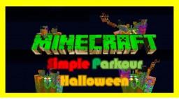 Simple Parkour (Hallowen) Minecraft Project