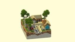 Small urban district Minecraft Project