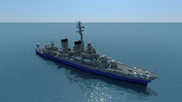 USS KIDD (DD-661) [1:1 SCALE] Minecraft Map & Project