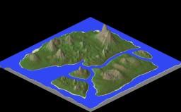 Landscape for a future PVP, survival map! Minecraft Project