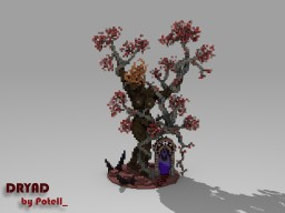 Nether Dryad Minecraft Project