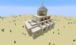 "AoE II Byzantines' Wonder ""Hagia Sophia"" Minecraft Map & Project"
