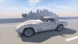 Chevrolet Corvette Stingray (C3) Minecraft Project